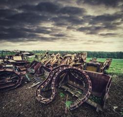 rusty track