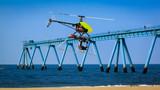 drone pour prise de vue aérienne poster