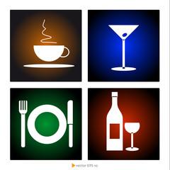 Simboli ristorazione