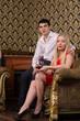 Romantic stylish young couple