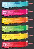 Fototapety Banner Infographics