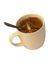 Травяной освежающий чай из целебных трав