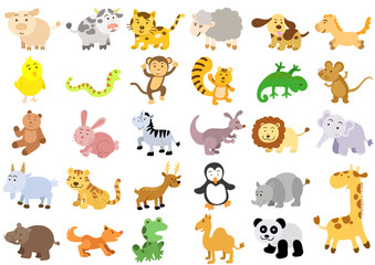 Extra large set of animals