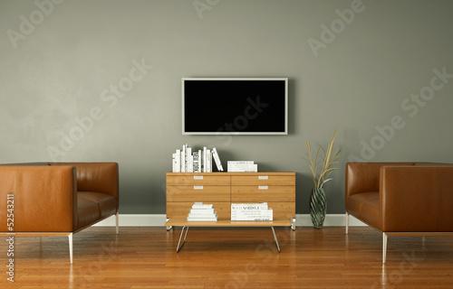 Wohndesign - modernes Wohnzimmer