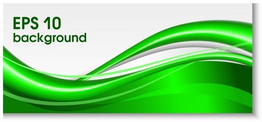 Зеленые волны, фон