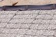 Leinwanddruck Bild - Gravel wire mesh bank revetment erosion control