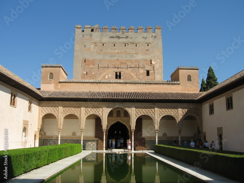Alhambra fortress in Spain