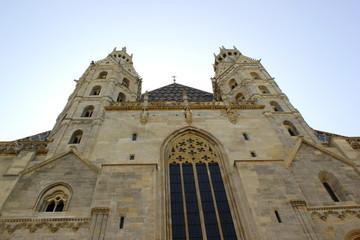Fassade des Stephansdom in Wien