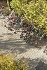 Parked Bikes