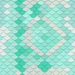 Seamless vector pattern. Stylization under skin of a snake