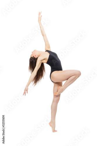 ballet dancer contemporary style woman
