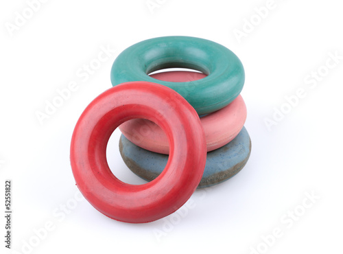 Rubber hand rings trainers