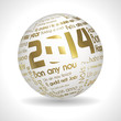 Gold Sphere 2014
