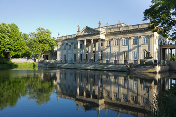 Lazenki palace, Warsaw, Poland