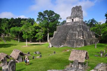 Templo II, Gran Plaza at Tikal, Guatemala