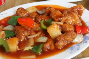 Pork sweet and sour