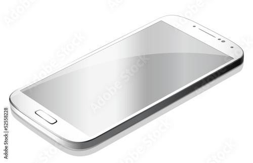 Smartphone white