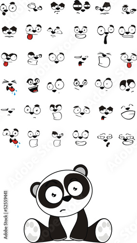 niedzwiedz-panda-zestaw-ladny-kreskowka-dla-dzieci-siedzi