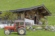 Leinwanddruck Bild - Hagenalm in Tirol