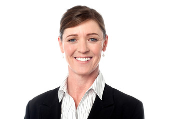 Picture of a smiling businesswoman