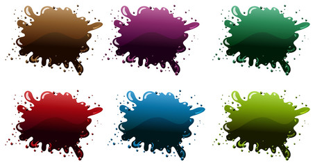 Different paint colors
