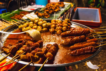 National dish popular in many other Southeast Asian countries Sa