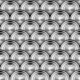 Metal Circles Background