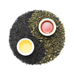The yin and yang of black and green tea