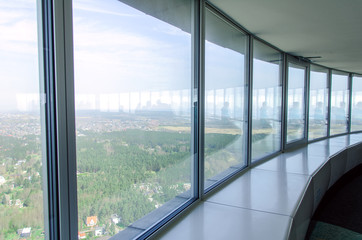 Panoramic view from the TV-tower