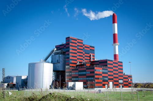 Eco-friendly peat-fired power station