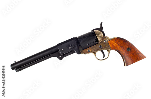 Antique american Colt Navy percussion revolver