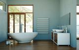 Fototapety Wohndesign - modernes Badezimmer