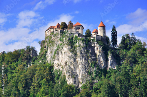 Old Castle in Bled, Slovenia
