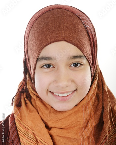 Adorable Arabic Muslim girl