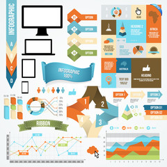 Infographic Icon and Element Collection