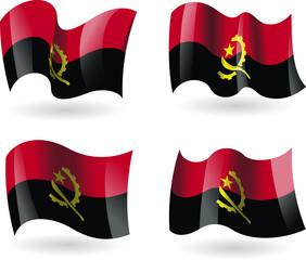 4 bandeiras de Angola