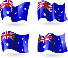 4 bandeiras da Austrália