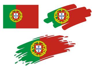 Brush Flags Portugal