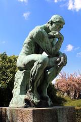 Le Penseur de Rodin (Laeken - Belgique)