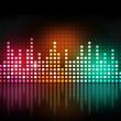 Multicolor Music Equalizer