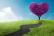 Obrazy na płótnie, fototapety, zdjęcia, fotoobrazy drukowane : Heart tree