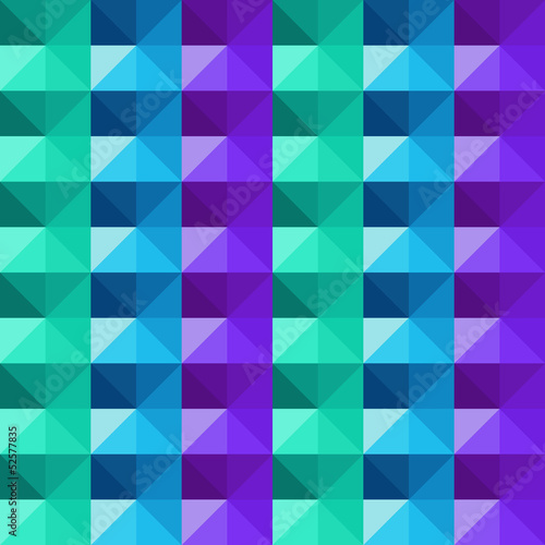 Vector abstract geometric colorful triangles pattern