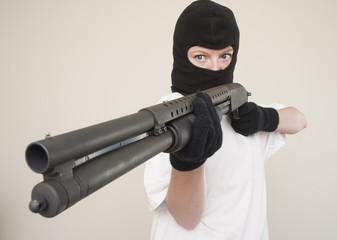 shotgun robber