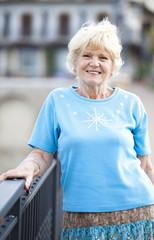Nonna sorridente