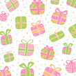 Vector Illustration of Colorful Abstract Gift Boxes