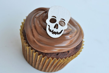 Totenkopf Cupcake