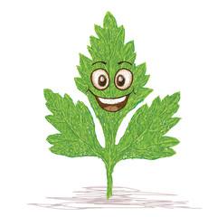 happy parsley