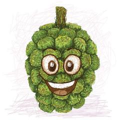 happy pandanus fruit
