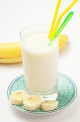 Banana milkshake  -  Frullato di banana