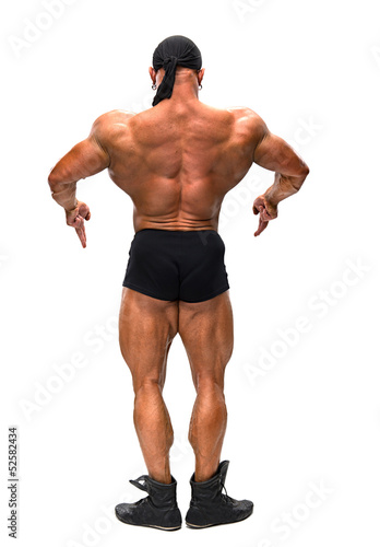 The bodybuilder back
